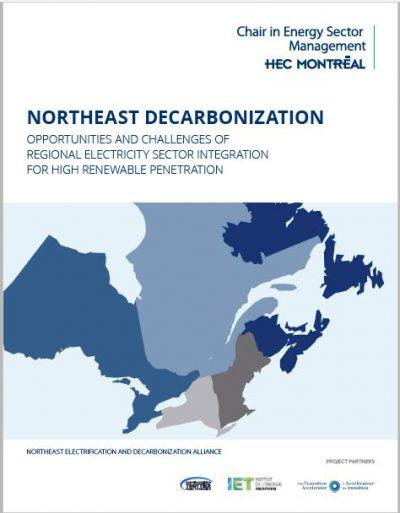 RAPPORT – NORTHEAST USA-CANADA DECARBONIZATION